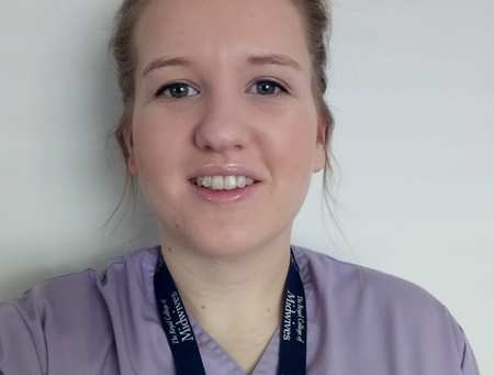 Emily Hartrey is studing Midwifery at USW.
