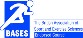 The British Association of Sport and Exercise Sciences endorsed logo