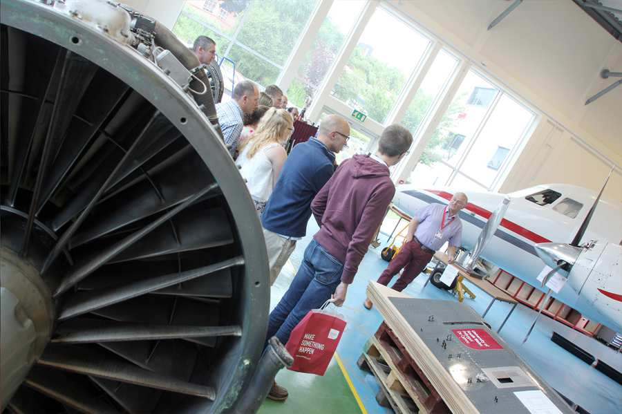 Engineering-Aerospace open day highlights