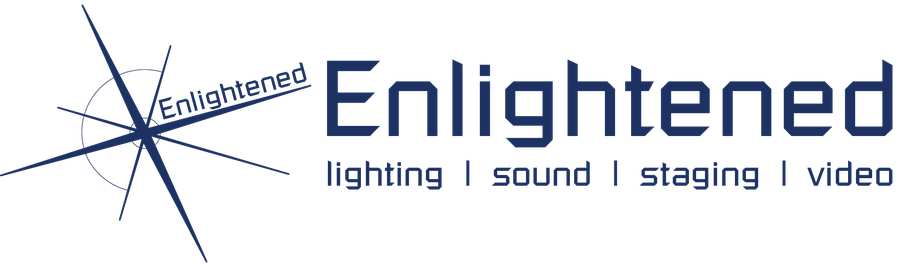 Enlightened logo for Lighting and Live Event Technology course pages