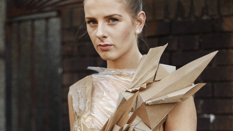 Fashion Cardboard Project