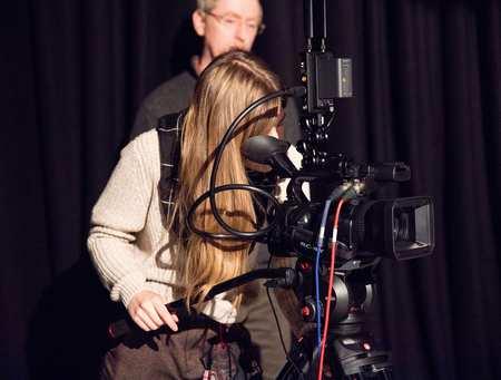 Film Cinematography Student