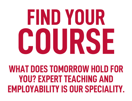 Homepage Message - Find a USW University Course