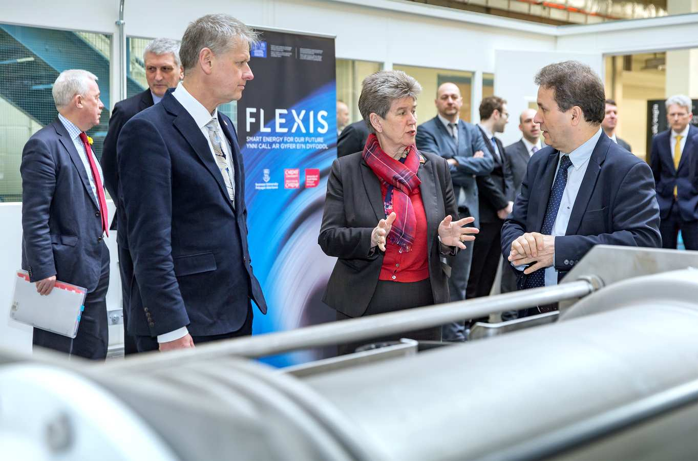 The launch of the Flexis project