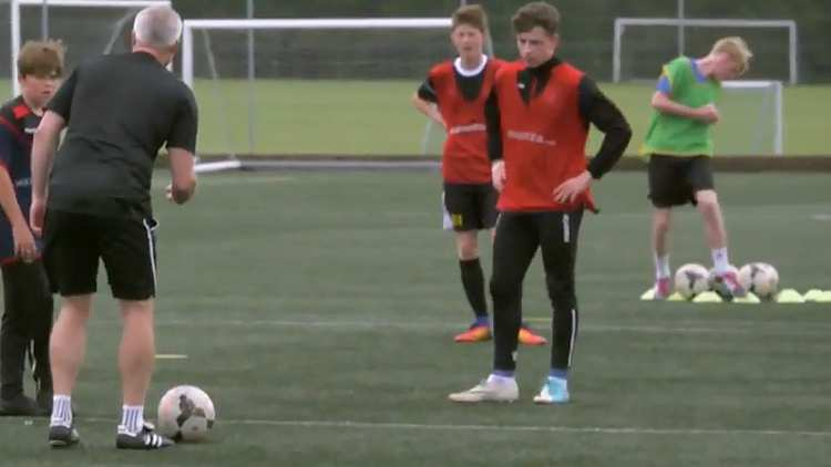 Community Football Coaching video module