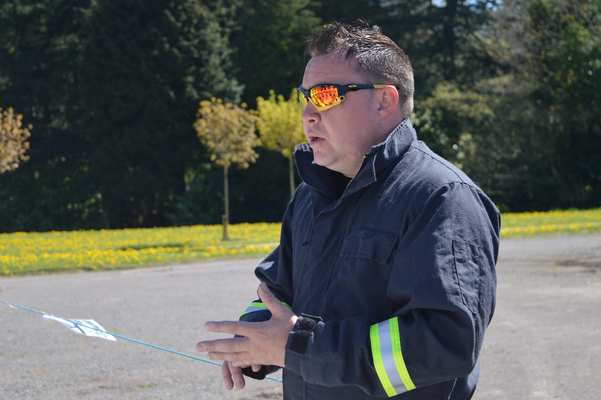 South Wales Fire and Rescue Fire Investigator Matt Jones can draw upon all his experience and share this valuable information with the students.