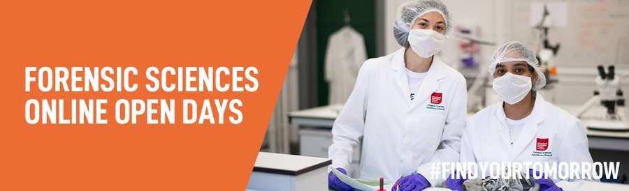 forensic sciences banner - OD
