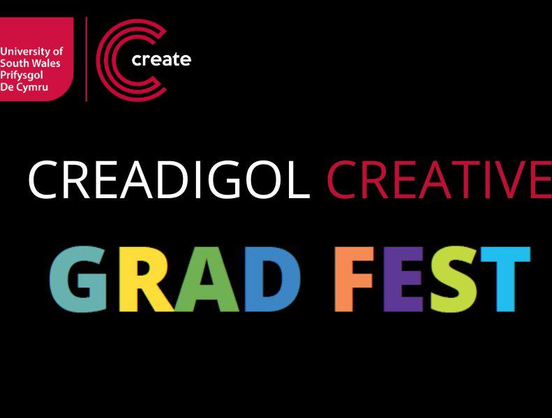 Creative Grad Fest 2020 Logo Welsh