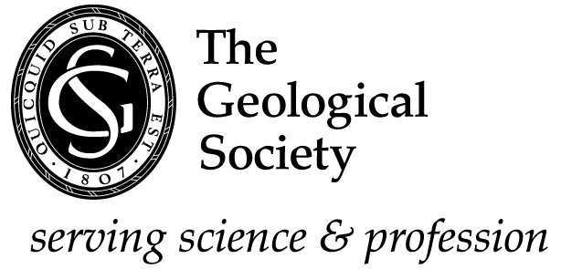 Geological Society with strapline