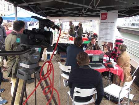 Journalism outside broadcast