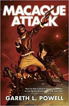 Gareth L. Powell - Macaque Attack