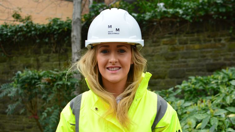 Gemma Rees, Project Management Surveying graduate