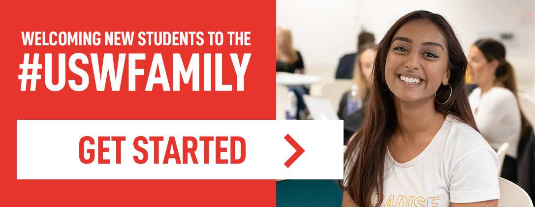 Getting Started at USW - Homepage Banner