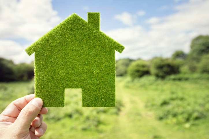 Grass energy efficient home