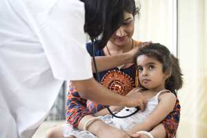 Indian child with doctor - Health Research GettyImages-997771842.jpg