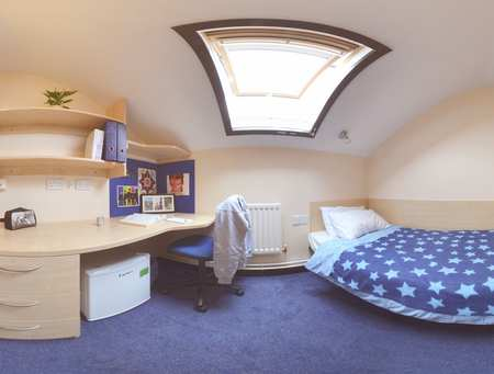 Glamorgan Court Attic Room 360