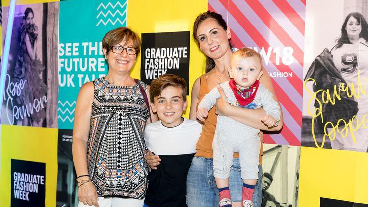 Jyne Barne / Tanti Graduate Fashion Week
