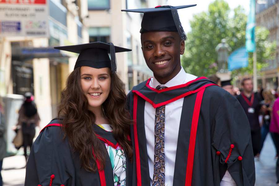 Graduation diversity image