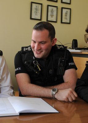 Greg is also a Special Sergeant in Wiltshire Police