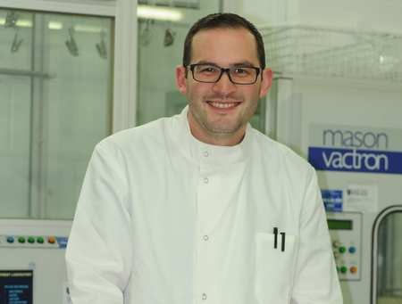 Greg Satchell, Forensic Science graduate