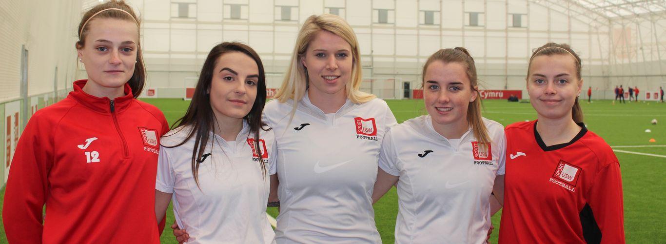 women in football 2018