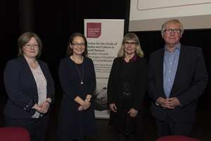 Tenth anniversary of the Centre for Media and Culture in Small Nations