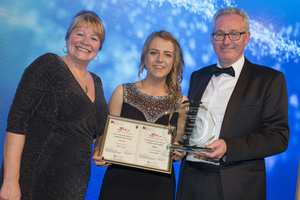 Tyler Payne wins RCN Nursing STudent of the Year 2017