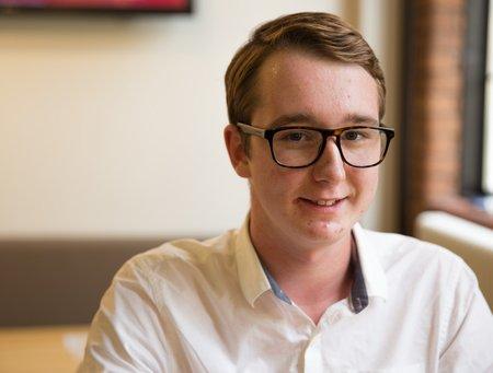 Harrison Coates, Lighting Design and Technology student