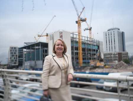 Helen Kane graduate and Chair of RICS Wales Board