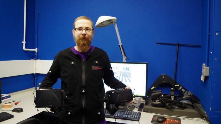 Jake Thorn, MComp Computer Games Development graduate