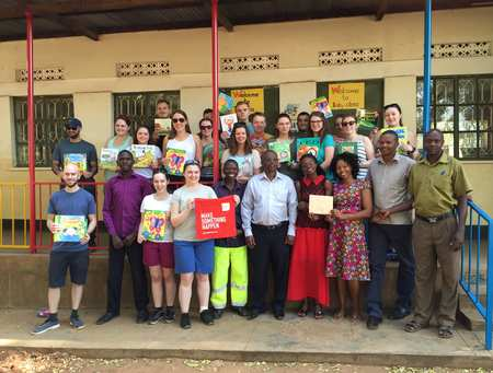 Geography students trip to Mbale 2017