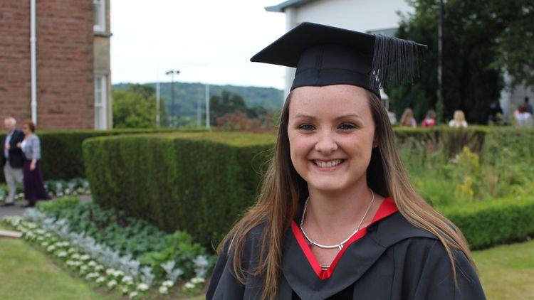 Angharad Llewelyn, PCET graduate