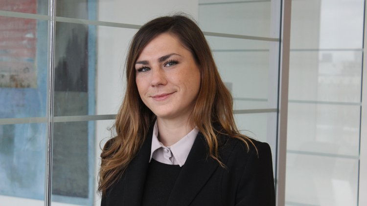 Lucy Williams, Quantity Surveying graduate