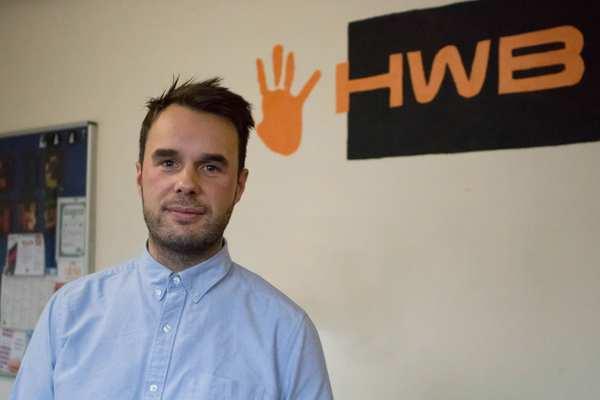Dan Oliver, Service Manager for The Hwb