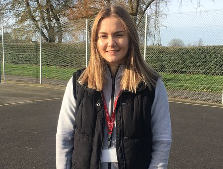 Hannah Palmer, sports coaching graduate, now studying to become a PE teacher
