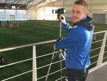 Adam Walton, Football Coaching and Performance student