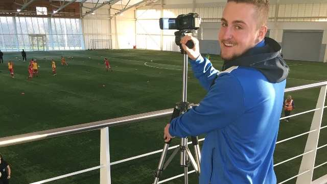 Adam Walton, Football Coaching and Performance student