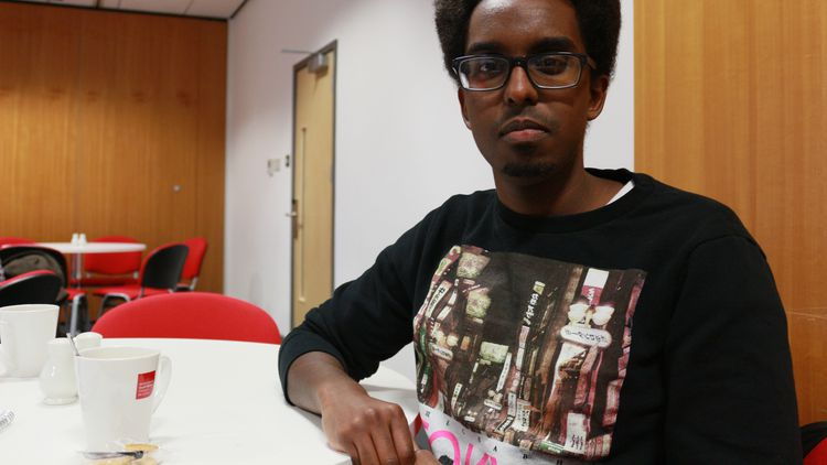 Subane Abdi, a final year Criminology student