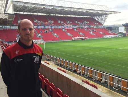 Mark Reynolds, EFLT graduate now working at Bristol City FC