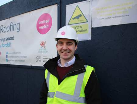 Adam Roberts, a Development Project Manager with United Welsh, has recently completed the MSc Construction Project Management at USW.