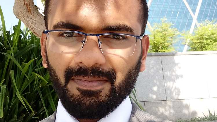 Aboobakar Shahjahan - graduate of the BEng Aeronautical Engineering