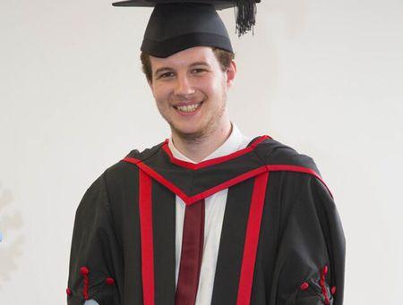 Jack Erasmus, Psychology graduate 2015