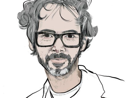James Rhodes in Pencil by Joley Dean, BA Illustration student