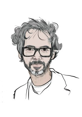 James Rhodes in Pencil by Joley Dean, BA (Hons) Illustration student