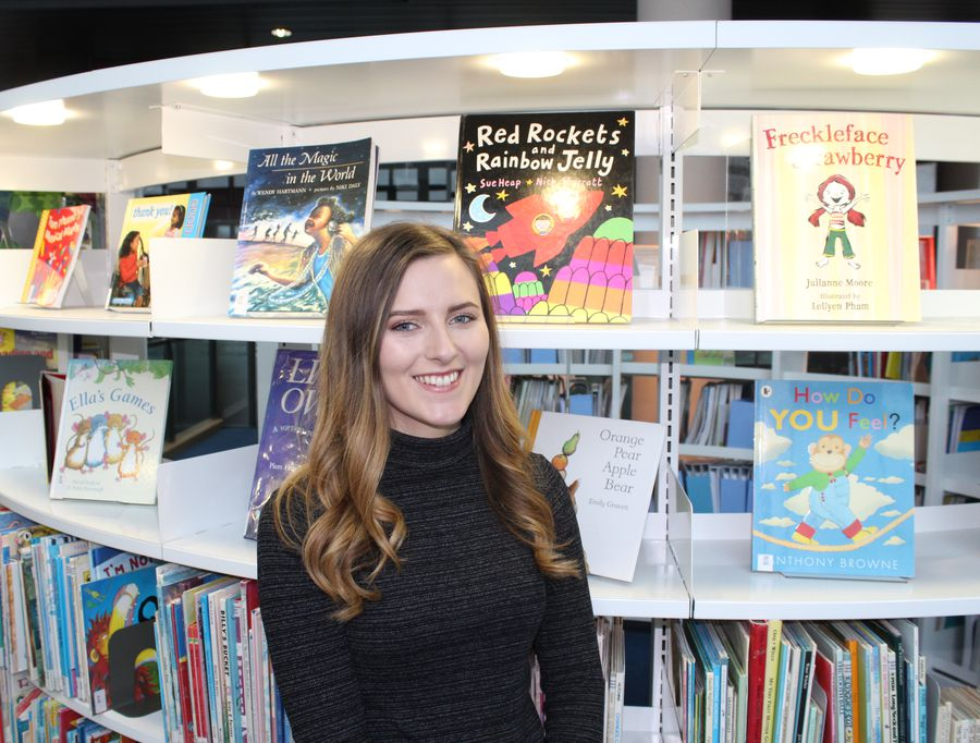 Jessica Rowlands - Primary Studies with QTS student