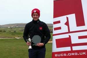 Jo Du Feu, Business Management student, won the BUCS Exeter Invitational Golf event