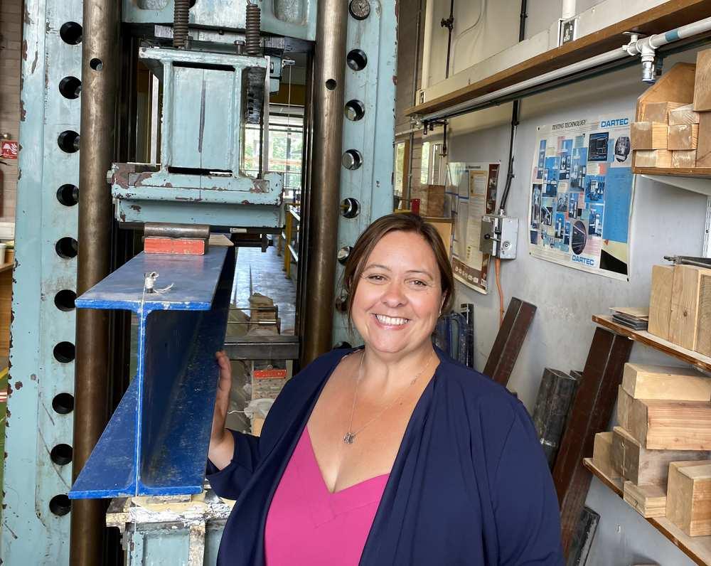 International Women in Engineering Day, Joanne Thomas, lecturer In Civil Engineering