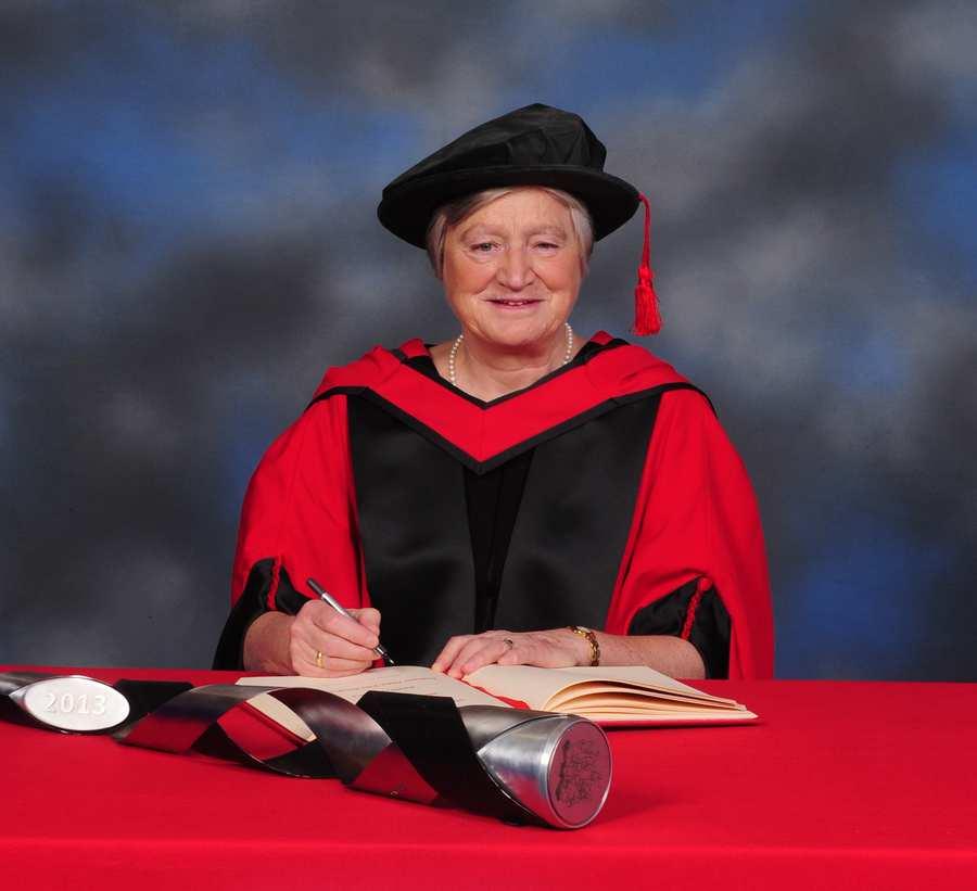 Dame Julia Slingo honoraries 2015