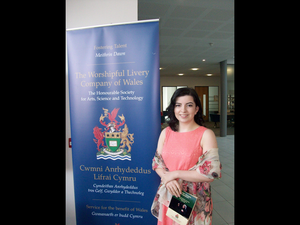 Kate Jones received a grant from the Worshipful Livery Company to do research into child birth in South Africa.