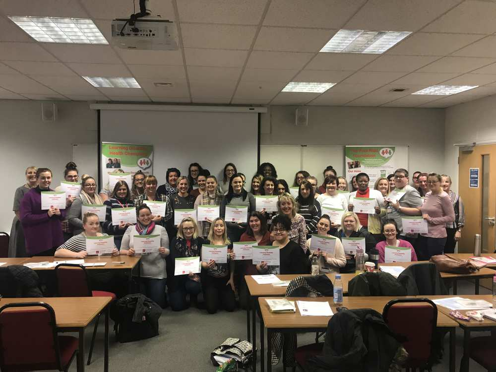 Student nurses at USW are the first at uni in Wales to become Learning Disability Champions. Neil Gibson, December 2018